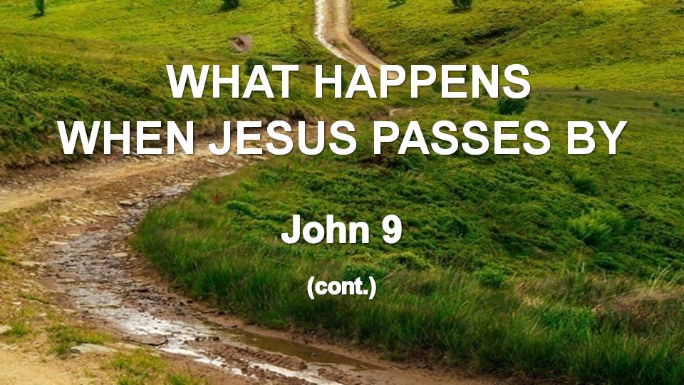Gospel of John 9 (cont.)