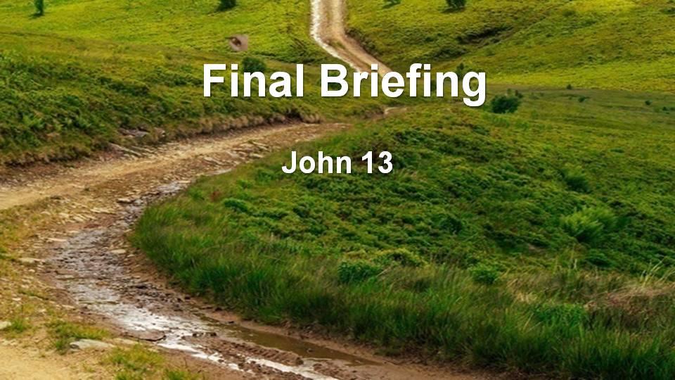 Gospel of John 13 (M)