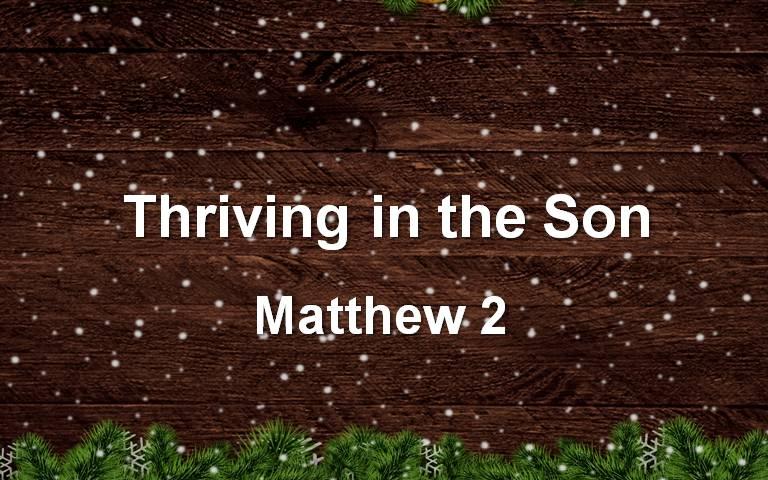 Gospel of Matthew 2