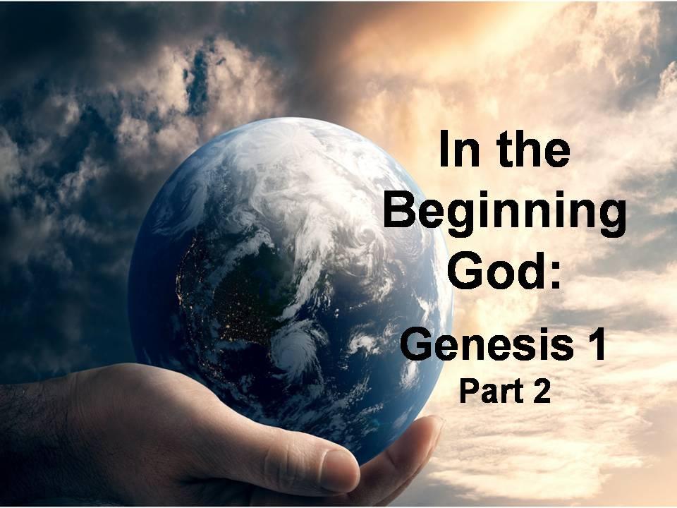 Book of Genesis 1 (Part 2)