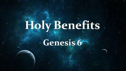 Book of Genesis 6 (Cont)