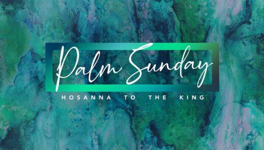 Palm Sunday (John12:12-16)