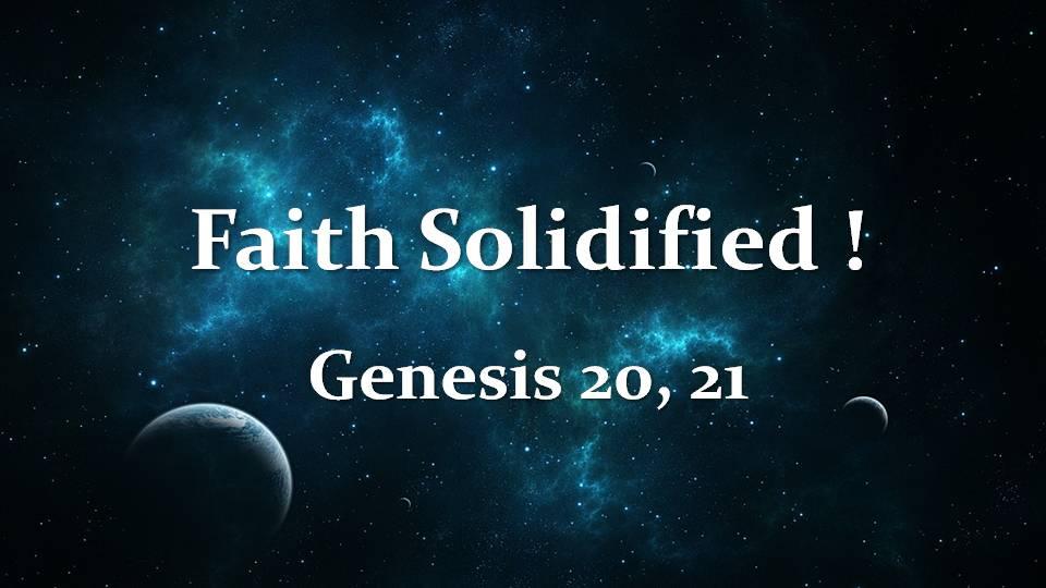 Book of Genesis 20, 21